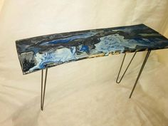 Check out this item in my Etsy shop https://www.etsy.com/uk/listing/582755601/reduced-console-hall-table-epoxy-resin
