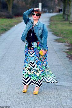 Plus Size Fashion - http://luziehtan.de/2015/03/outfit-hello-spring/