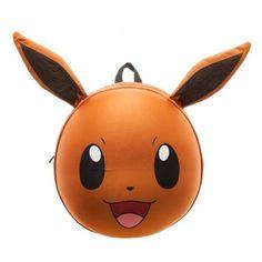 Pokemon Eevee 3D Molded Backpack - Bioworld - Pokemon - Backpacks at…