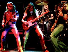 Status Quo Status Quo Band, Status Quo Live, Rick Parfitt, Purple Band, Myself Status, Rockn Roll, Rock Posters, Iron Maiden, Blue Abstract
