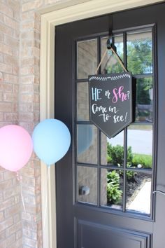 Gender reveal once we get home from the hospital