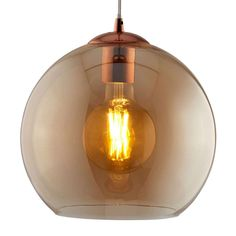 Buy Balls hanging light, amber-coloured glass sphere ✓Top-rated service ✓Comfortable & secure payment Years of experience ✓Order now! Hanging Lights, Pendant Light, Light, Ball Pendant Lighting, Perfect Lights, Amber Glass, Colored Glass, Light Bulb, Energy Saving Lamp