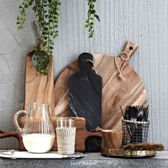 Lene Bjerre SPRING / SUMMER 20106. Wooden and marble chopping boards
