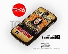AJ 4125 Sirius Black Prisoners Wizard - Samsung Galaxy S IV Case   toko6 - Accessories on ArtFire