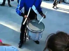 Blue Devils drum line jam