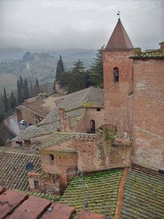 You can ride horses right thru this charming little town.Certaldo, Provincia di Firenze, Toscana Italy