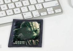 Yoda Condom #starwars