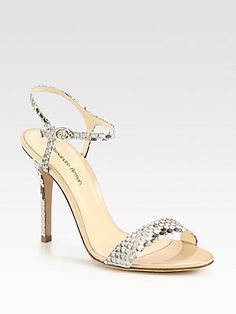 Python Strappy Sandals by Alexandre Birman