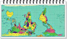 los mapamundis de la escuela.
