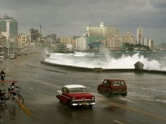 Malecón, Havana  Photograph by David Alan Harvey