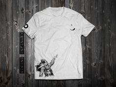 "www.aloft.clothing ""Viking"" men's t-shirt, white cotton, paragliding brand, casual line  Like our page: https://www.facebook.com/AloftBoundaryLayerApparel"