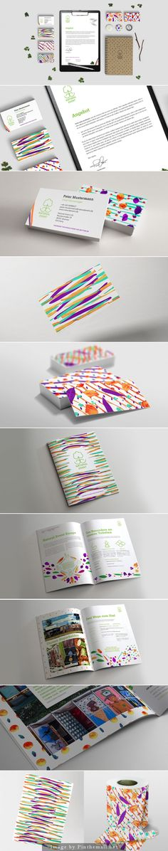 Angebot colorful and creative #business #card and other stationery design