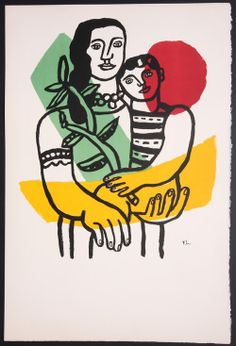 Fernand Leger, Art et Solidarite Lovely holiday gift to brighten your home