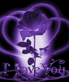 Love You Gif, Love You Images, Love Pictures, Purple Art, Purple Love, All Things Purple, Butterfly Pictures, Flower Images, Heart Wallpaper