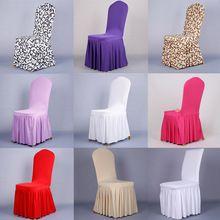 Inicio cubierta de la silla del estiramiento del Spandex oficina silla de comedor restaurante cubierta de banquetes plegable del Hotel cubierta de la silla(China (Mainland))