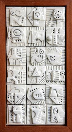 Terracotta wall sculpture by Ron Hitchens for sale - crafts - . Terracotta wall sculpture by Ron Hitchens for sale – crafts – Ceramic Wall Art, Ceramic Clay, Ceramic Pottery, Sculpture Clay, Wall Sculptures, Ceramic Sculptures, Clay Projects, Clay Crafts, Keramik Design
