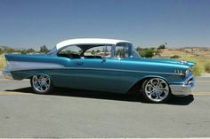 1957 Chevrolet Bel Air Maintenance of old vehicles: the material for new cogs/casters/gears could be cast polyamide which I (Cast polyamide) can produce Chevrolet Bel Air, 1957 Chevy Bel Air, Chevy Ss, Chevrolet Trucks, Chevrolet Impala, Chevy Classic, Best Classic Cars, Muscle Cars, Volkswagen