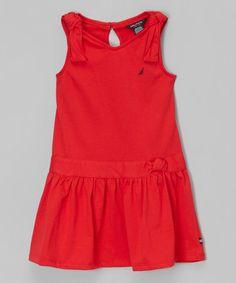Another great find on #zulily! Red Knot Drop-Waist Dress - Infant, Toddler & Girls #zulilyfinds
