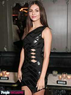 """Victoria Justice's NYFW Photo Diary: See How a Star Does Fashion Week Right!   PARTY DOWN   """"Time to celebrate an amazing collection. Congrats Max and Lubov!"""""""