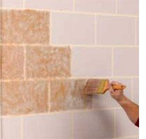 Paint basement cinder block walls google search office - Concrete block painting ideas ...