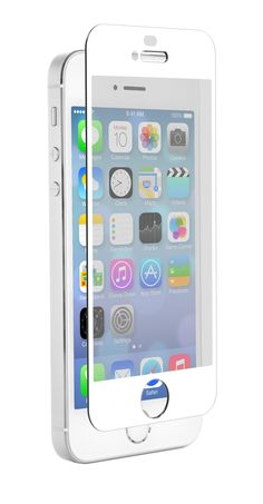 ZNitro Glass iPhone 5/5S/5C Tempered Glass Screen Protector - White