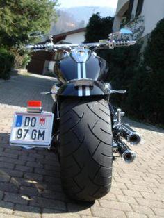 H Custom Choppers, Custom Bikes, M109, Cool Motorcycles, Super Bikes, Motorbikes, Harley Davidson, Monster Trucks, Vehicles