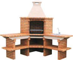 asadores de ladrillo con chimenea - Buscar con Google