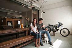 Oude garage omgebouwd tot industriële woning - Roomed | roomed.nl