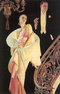Pinturas de Joseph Christian Leyendecker! | Artes & Humor de Mulher