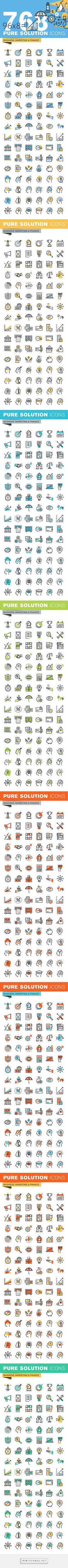 best icon set images on Pinterest Graph design Icon design and