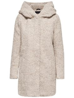 LONG WOOL COAT, Simply Taupe, large
