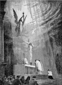 From a blog about the Latin Mass -  also features Elvis video of the Mass, which must be seen to believed! - see bottom of the page ... http://corjesusacratissimum.org/2009/12/from-ordinary-to-extraordinary/