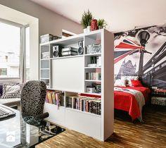 łózko wydzielone w salonie - Szukaj w Google