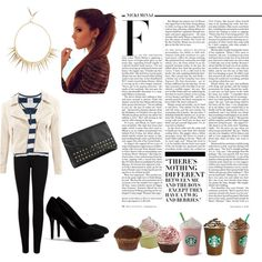 Designer Clothes, Shoes & Bags for Women Autumn Winter Fashion, Fashion Inspiration, Coffee, Friends, My Style, Polyvore, Design, Women, Coffee Cafe