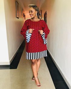 Ankara Short Gown Styles, Short Gowns, Latest African Fashion Dresses, African Print Dresses, African Dresses For Women, African Print Fashion, African Attire, African Dress Designs, Ankara Gowns