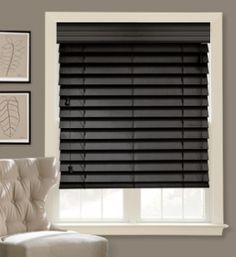 black wooden blinds. Black Wood Blinds For Windows - Google Search Wooden S
