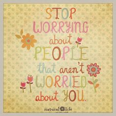 No more worrying!