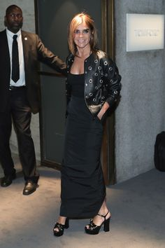 Carine Roitfeld attends Tom Ford fashion show during New York Fashion Week…