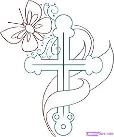 Free Christian Clip Art | Swirly Cross Clip Art Pictures ...