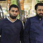 Atif Aslam At Dubai International Airport on 20th December 2013