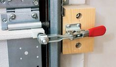 Garage Door Draft Stopper No matter how well-insulated your garage workshop is, chances are good that air leaks around the garage door, so you lose heating or cooling efficiency.
