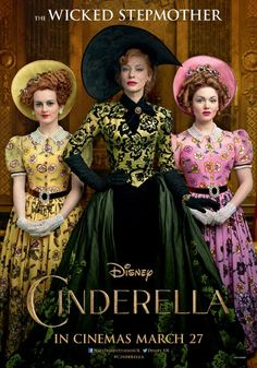 Here is the official poster for Cate's character Lady Termaine in the upcoming Disney live action movie Cinderella. The film is scheduled to hit cinemas in March of The image was shot by famous photographer Annie Leibovitz, by the way. Cinderella 2015, Cinderella Live Action, Cinderella Movie, Download Cinderella, Cinderella Stepsisters, Midnight Cinderella, Walt Disney, Disney Magic, Movie Posters