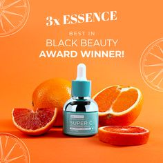 There's a Reason we've Won 3x in a Row! Fight dark marks and fine lines with Super C Brightening Serum, a brightening and anti aging, powerhouse!  It is the perfect blend of brightening ingredients such as 20% Ascorbic Acid, Ferulic Acid, and Kojic Acid which work together synergistically to improve the appearance of dark spots and sun damage. Also contains ingredients such as Hyaluronic Acid and Peptides, which reduce the appearance of fine lines while encouraging a fuller, brighter look.