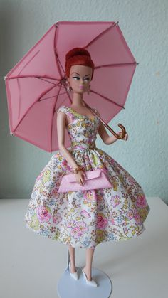 One of a Kind? Information not available for outfit of Barbie Doll not sure if its a Silkstone