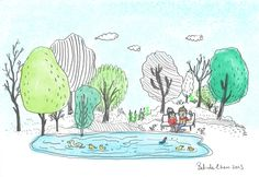 Park life. Pencil, Sketches, Thoughts, Park, Life, Drawings, Parks, Doodles, Sketch