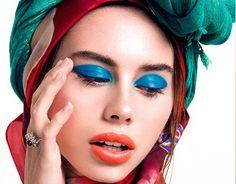 "Check out new work on my @Behance portfolio: ""Kaleidoscope. Beauty editorial in Giuseppina Magazine.""…"