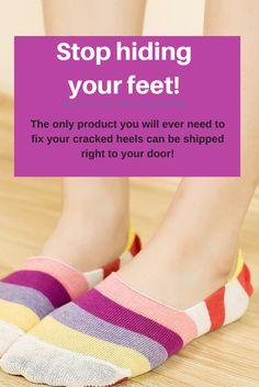 Bad cracked heels can be fixed with this # 1 product! Bad cracked heels can be fixed with this product! High Heel Pumps, Women's Pumps, Heel Fissures, Dry Cracked Heels, Diy Pedicure, Foot File, Beauty Soap, Black Suede Wedges, Ingrown Hair