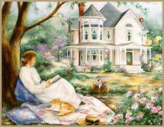 Peaceful Afternoon.............I want this life....
