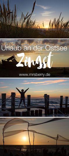 MrsBerry.de Reisetipps für deinen Ostsee Urlaub auf der Halbinsel Zingst. | Am Strand von Zingst gibt es phänomale Sonnenuntergänge. Aber auch sonst kann man im Familienurlaub in Zingst viel erleben. | Mehr dazu >>> mrsberry.de