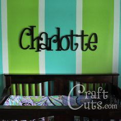 *Cheap site to order wood letters that come in many fonts, heights and thicknesses.* - cool colors
